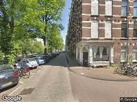 112 melding Brandweer naar Nieuwe Prinsengracht in Amsterdam