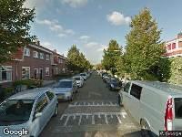 112 melding Ambulance naar Lindenstraat in Haarlem