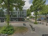 Brandweer naar Zwaansvliet in Amsterdam