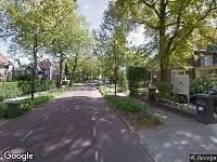 112 melding Brandweer naar Parklaan in Eindhoven vanwege brand