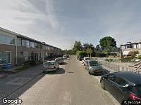 Brandweer naar Schouwenburgstraat in Nijmegen