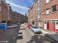 112 melding Ambulance naar Hasebroekstraat in Amsterdam