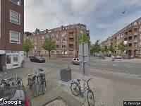 Brandweer naar Hofmeyrstraat in Amsterdam