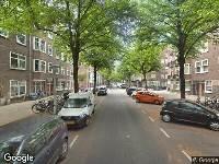 112 melding Brandweer naar Niersstraat in Amsterdam