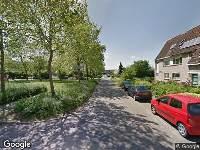 112 melding Brandweer naar Zilvermosstraat in Almere