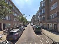 112 melding Brandweer naar Reinier Claeszenstraat in Amsterdam