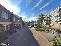112 melding Ambulance naar Irenestraat in Lisse