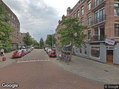 Brandweer naar Balistraat in Amsterdam