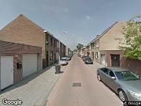 112 melding Politie naar Kasteeldreef in Tilburg vanwege overval