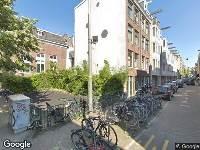 112 melding Brandweer naar Vinkenstraat in Amsterdam vanwege brand