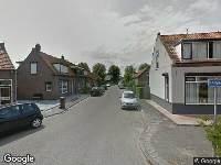 Ambulance, brandweer en politie naar Tuinstraat in Sommelsdijk vanwege verkeersongeval