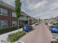 Ambulance naar Van Speijkstraat in Oud-Beijerland