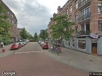 112 melding Brandweer naar Balistraat in Amsterdam