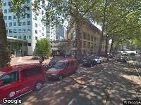 112 melding Besteld ambulance vervoer naar Roetersstraat in Amsterdam