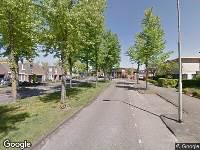 112 melding Politie naar Kasterenlaan in Tilburg vanwege letsel