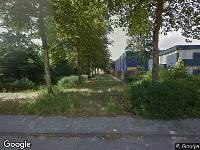 Brandweer naar Bunsenstraat in Dordrecht vanwege gebouwbrand