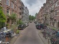 112 melding Ambulance naar Delistraat in Amsterdam