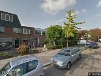 112 melding Ambulance naar Van den Berghlaan in Hoofddorp
