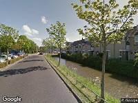 112 melding Brandweer naar Duijvesteijnstraat in Wateringen vanwege voertuigbrand