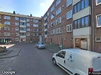 Ambulance naar Den Burgstraat in Amsterdam
