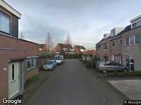 112 melding Politie naar Murraijstraat in Wateringen