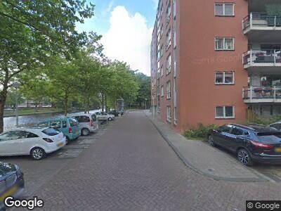 Ambulance naar Krijn Breurstraat in Amsterdam