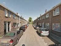 112 melding Brandweer naar President Steijnstraat in Tilburg vanwege wateroverlast