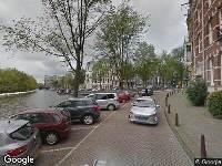 112 melding Ambulance naar Leidsekade in Amsterdam