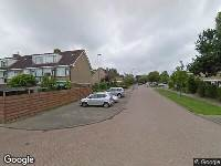 Ambulance naar Frans Halsstraat in Oud-Beijerland