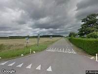 Ambulance naar Boonsweg in Heinenoord