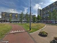 112 melding Ambulance naar Dijkgraafplein in Amsterdam