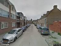 112 melding Ambulance naar Dapperstraat in Tilburg
