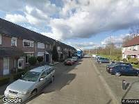 112 melding Besteld ambulance vervoer naar Kortgenestraat in Tilburg