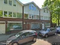 Ambulance naar Hilversumstraat in Amsterdam
