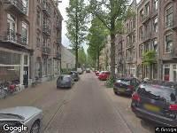 112 melding Ambulance naar Bankastraat in Amsterdam