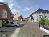 112 melding Ambulance naar Ingrid Bergmanborg in Schiedam