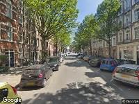 112 melding Ambulance naar Bosboom Toussaintstraat in Amsterdam