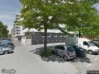 Ambulance naar Martinus Steijnstraat in Rotterdam