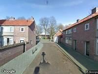 Ambulance naar Montgomerystraat in Tilburg