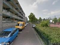 112 melding Ambulance naar Gijsinglaan in Rotterdam