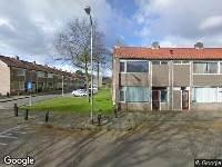 112 melding Ambulance naar Lavendelweg in Tilburg