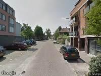 112 melding Ambulance naar Paus Adriaanstraat in Tilburg