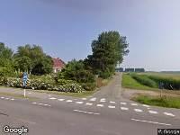 Politie naar Zandstraat in Sas van Gent vanwege letsel