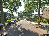 112 melding Besteld ambulance vervoer naar Graaf Florislaan in Amstelveen