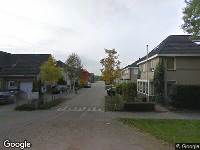 112 melding Ambulance naar Donkerbos in Alphen