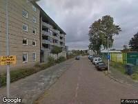 112 melding Brandweer naar Moerbergplantsoen in IJmuiden