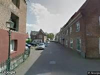 112 melding Ambulance naar Ruyterstraat in Grave