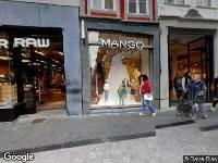 112 melding Politie naar Grote Staat in Maastricht vanwege aanrijding met letsel