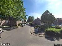Ambulance naar Maanstraat in Amsterdam
