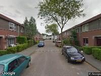 112 melding Ambulance naar Gaasterlandstraat in Tilburg